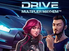 Drive: Multiplier Mayhem – онлайн автомат казино Вулкан Делюкс